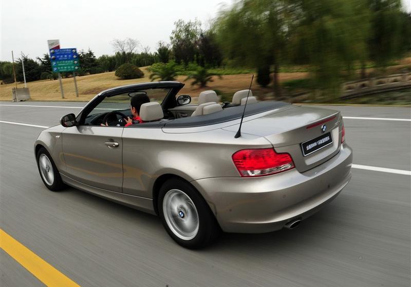 宝马(进口) 宝马1系 2011款 120i 敞篷轿跑车