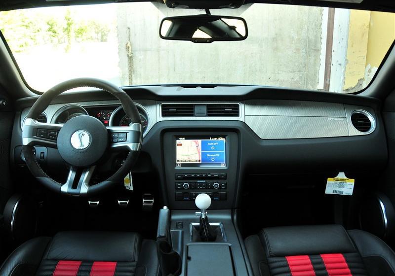 福特野马 _野马  2012款 gt500 手动豪华型--中控全图