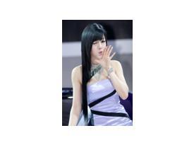 美钻车展韩国车模黄美姬