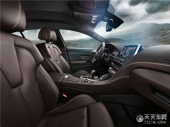 全新bmw m6四门轿跑车通过从技术角度充分考量的设计特征,如底盘