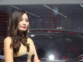 2014昆明汽车博览会广汽吉奥GX6/GP150车模