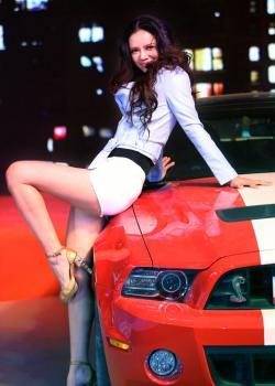 2016中国车模国际交流赛 美女与车