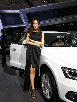 2017昆明国际汽车博览会奥迪车模