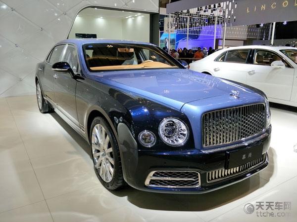 2017昆明国际汽车博览会豪车欣赏