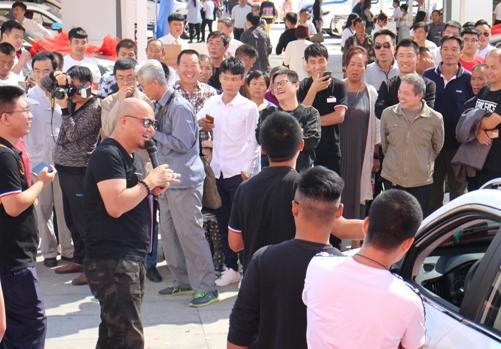 中秋节家门口摆上了汽车盛宴 四城市民欢享巡展生活