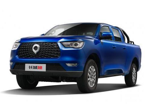 11.18万元,长城炮商用皮卡汽油8AT两驱车型开启预售