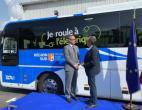 宇通纯电动客车出口法国 欧洲首条纯电动城间线路启用