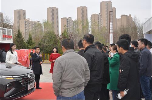北京现代营销长治 名城巡展上收获满满